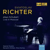 Sviatoslav Richter: Plays Schubert - Live in Moscow - CD