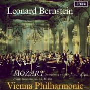 Wiener Philharmoniker, Leonard Bernstein: Mozart: Piano Concerto No. 15, Symphony No. 36 - Plak