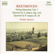 Beethoven: String Quartets Op. 132 and H. 34 - CD
