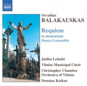 Balakauskas: Requiem in Memoriam Stasys Lozoraitis - CD