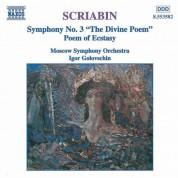 Igor Golovschin, Moscow Symphony Orchestra: Scriabin: Symphony No. 3  - Poem of Ecstasy - CD