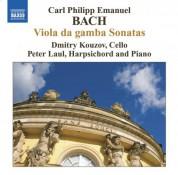 Dmitry Kouzov: Bach, C.P.E.: Viola Da Gamba Sonatas - CD
