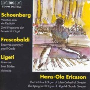 Hans-Ola Ericsson: Organ music by Schoenberg and Ligeti - CD