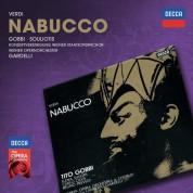 Lamberto Gardelli, Tito Gobbi, Elena Suliotis, Wiener Opernorchester: Verdi: Nabucco - CD