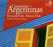 Bernarda Fink, Marcos Fink, Carmen Piazzini: Canciones Argentinas - CD