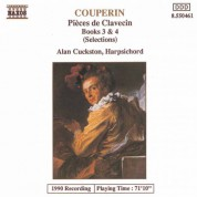 Couperin, F.: Pieces De Clavecin, Books 3 and 4 (Excerpts) - CD