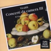 Il Giardino Armonico, Giovanni Antonini: Vivaldi: Concerti Da Camera III - CD