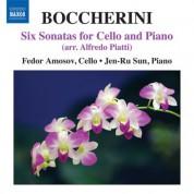 Fedor Amosov: Boccherini: 6 Cello Sonatas (arr. Piatti) - CD