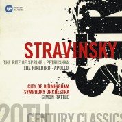 City of Birmingham Symphony Orchestra, Sir Simon Rattle: Stravinsky: Le Sacre du Printemps - CD