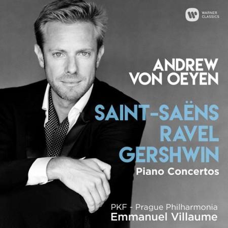 Andrew Von Oeyen: Saint - Seans, Ravel, Gershwin: Piano Concertos - CD