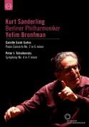 Berliner Philharmoniker, Kurt Sanderling, Yefim Bronfman: Saint-Saens: Piano Concerto No. 2 / Tchaikovsky: Symphony No. 4 - DVD