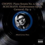 Alfred Cortot: Chopin, F.: Piano Sonata No. 2 / Schumann, R.: Kinderszenen / Carnaval (Cortot) (1953) - CD