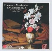 Les Amis de Philippe, Ludger Remy: Francesco Manfredini - 12 Concerti op. 3 & CPO Catalogue 2006 - CD