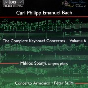 Miklós Spányi, Concerto Armonico, Péter Szűts: C.P.E. Bach: Keyboard Concertos, Vol. 6 - CD
