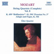 Mozart: String Quartets, K. 499, 'Hoffmeister' and K. 590, 'Prussian No. 3' - CD