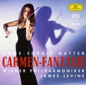 Anne-Sophie Mutter, James Levine, Wiener Philharmoniker: Anne-Sophie Mutter - Carmen Fantasie - SACD