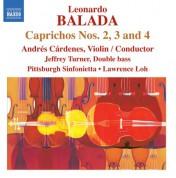 Pittsburgh Sinfonietta: Balada: Caprichos Nos. 2-4 - CD