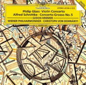 Christoph von Dohnányi, Gidon Kremer, Rainer Keuschnig, Wiener Philharmoniker: Glass: Violin Concerto + Schnittke - Plak