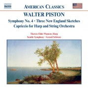 Piston: Symphony No. 4 / Three New England Sketches - CD