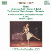 Kosice Slovak State Philharmonic Orchestra: Prokofiev, S.: Orchestral Suites - CD