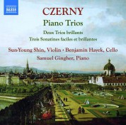 Sun-Young Shin, Benjamin Hayek, Samuel Gingher: Czerny: Piano Trios - CD