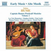 Hume: Captain Humes Poeticall Musicke, Vol. 2 - CD