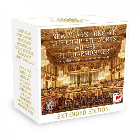 Wiener Philharmoniker: New Year's Concert: The Complete Works - CD