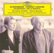 Christine Schäfer, David Pittman-Jennings, Ensemble Intercontemporain, Pierre Boulez: Schoenberg: Pierrot Lunaire - CD