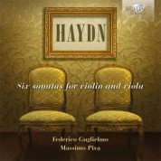 Federico Guglielmo, Massimo Piva: Haydn: Six Sonatas for Violin and Viola - CD