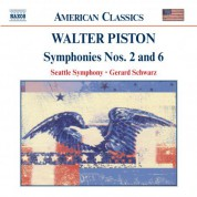 Piston: Symphonies Nos. 2 and 6 - CD