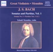 Bach, J.S.: Sonatas and Partitas (Menuhin) (1934-1935) - CD
