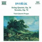 Vlach Quartet Prague: Dvorak, A.: String Quartets, Vol. 3 (Vlach Quartet) - No. 9 / Terzetto - CD