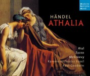 Paul Goodwin, Nuria Rial, Lawrence Zazzo: Händel: Athalia - CD