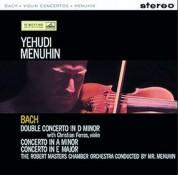 Yehudi Menuhin: Bach: Violin Concerto - Plak