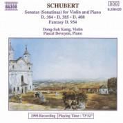 Schubert: Violin Sonatas (Sonatinas) - CD