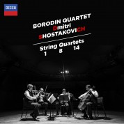 Borodin String Quartet: Shostakovich: String Quartets Nos.1, 8 & 14 - CD