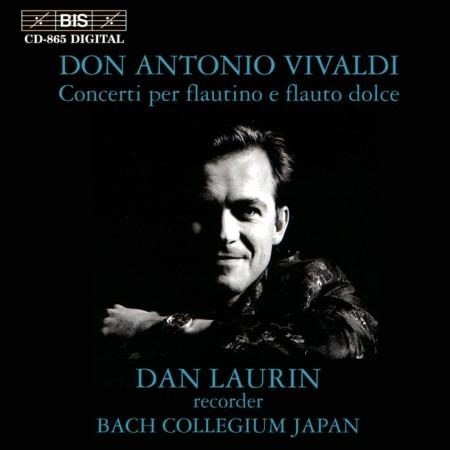 Dan Laurin, Bach Collegium Japan: Vivaldi: Concerti per flautino e flauto dolce - CD