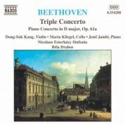 Bela Drahos, Jenö Jandó, Dong-Suk Kang, Maria Kliegel: Beethoven: Triple Concerto - Piano Concerto, Op. 61a - CD
