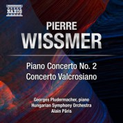 Hungarian Symphony Orchestra, Alain Paris, Georges Pludermacher: Wissmer: Piano Concerto No. 2 & Concerto valcrosiano - CD