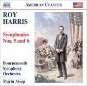 Marin Alsop: Harris, R.: Symphonies Nos. 5 and 6 - CD