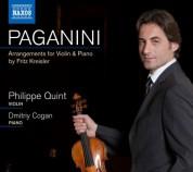 Philippe Quint: Paganini, arr. Kreisler: La campanella - Le streghe - Variations - CD