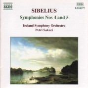 Sibelius: Symphonies Nos. 4 and 5 - CD