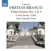 Carlos Damas: Freitas Branco: Violin Sonatas Nos. 1 & 2 - CD
