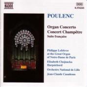 Poulenc: Organ Concerto / Concert Champetre - CD