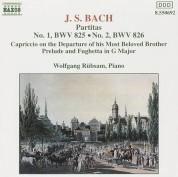 Wolfgang Rübsam: J.S. Bach: Partitas Nos. 1-2, BWV 825-826 - CD