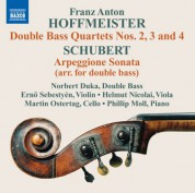 Norbert Duka: Hoffmeister: Double Bass Quartets Nos. 2-4 - CD