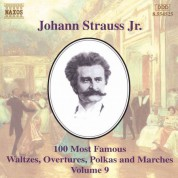 Strauss II: 100 Most Famous Works, Vol.  9 - CD