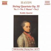 Haydn: String Quartets Op. 55, Nos. 1 - 3 - CD