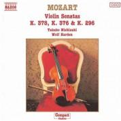 Mozart: Violin Sonatas,  K. 378, K. 376 and K. 296 - CD