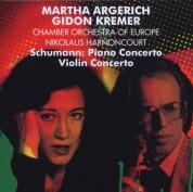 Gidon Kremer, Martha Argerich, Chamber Orchestra of Europe, Nikolaus Harnoncourt: Schumann: Piano & Violin Concertos - CD